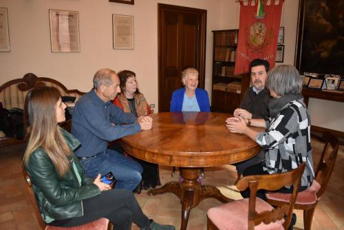 Ramras's grandchildren in visit the Urbisaglia camp (4)